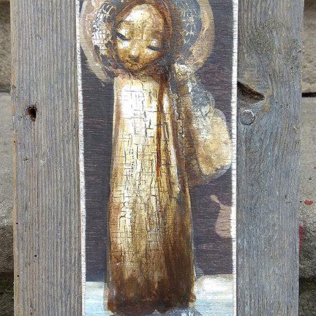 obraz z aniołem