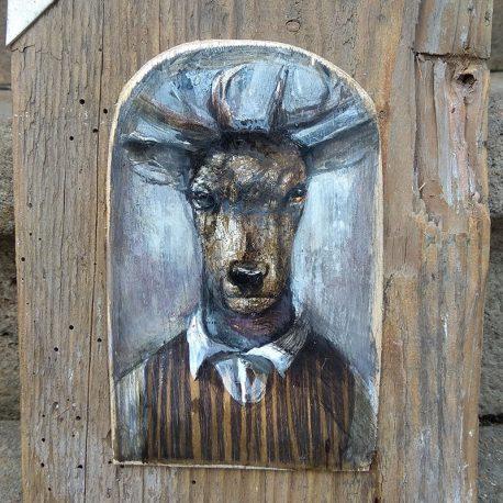 obraz jelenia