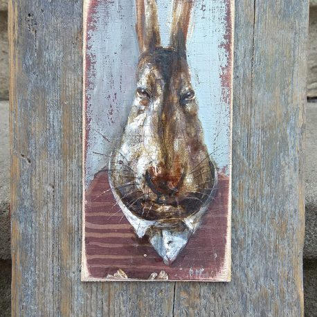 obraz z królikiem