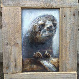 obraz z leniwcem
