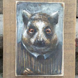 portret lemura