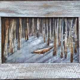 lis w lesie